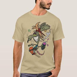 Skater Rodent T-Shirt - Pebble