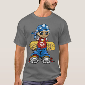 Skater servant boy and bandana T-Shirt