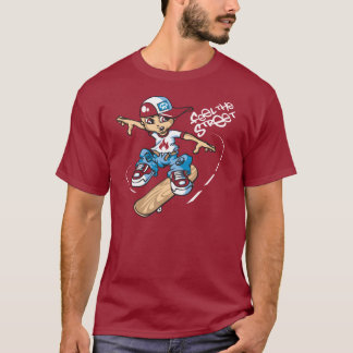 Skater servant boy and flip T-Shirt