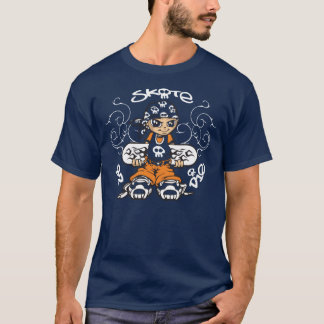 Skater servant boy and tribals T-Shirt