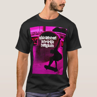 skater shirt, skatebowl kortrijk belgium T-Shirt