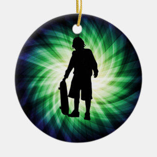 Skater Skateboard Christmas Tree Ornaments