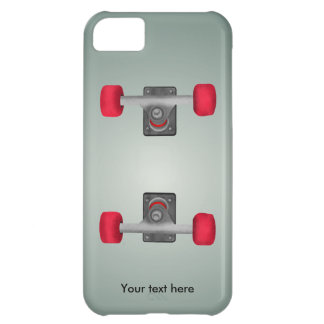 Skater Skateboard Skateboarding Wheels and Trucks iPhone 5C Cover