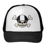 Skater skull and crossbones hats
