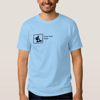 Skater -- Small Logo -- Customizable T-shirt