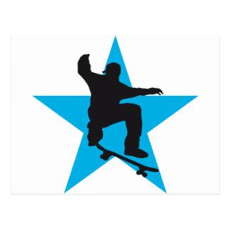 Skater star C 2C Post Cards