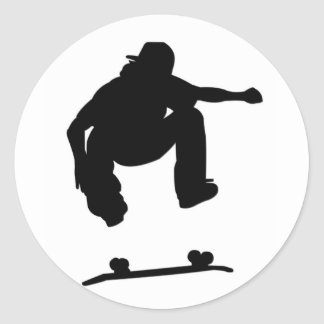 Skater Sticker