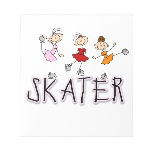 Skater T-shirts and Gifts Memo Note Pads