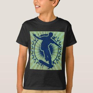 Skater tribal playera