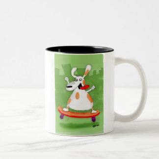 Skater Two-Tone Coffee Mug