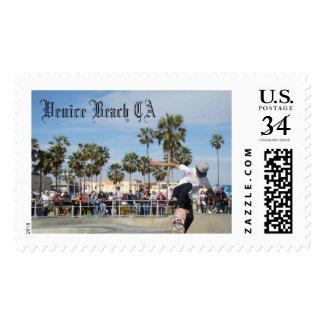 Skater Venice Beach Postage