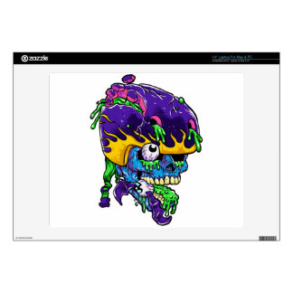 Skater zombie. decals for laptops