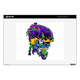 """Skater zombie. skins for 12"""" laptops"""
