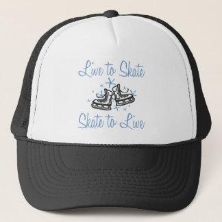 SkaterChick Live to Skate Trucker Hat