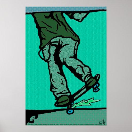 skaters2-aqua póster