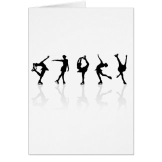 Skaters & Reflections Greeting Cards
