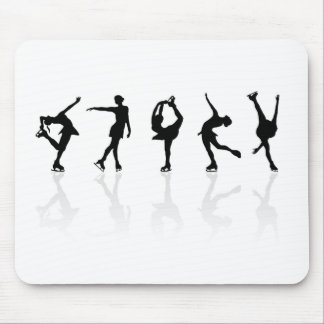 Skaters & Reflections Mouse Pad