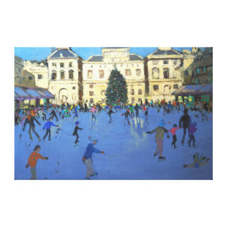 Skaters Somerset House 2012 Canvas Print
