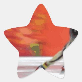 Skaters Star Sticker