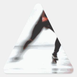 Skaters Triangle Sticker