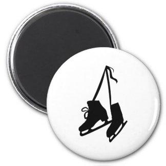 Skates 2 Inch Round Magnet