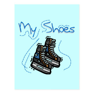 Skates My Shoes Tshirts and Gifts Postcard