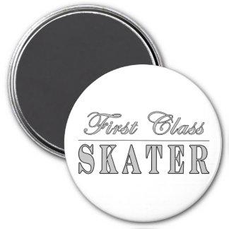 Skating and Skaters First Class Skater Fridge Magnet