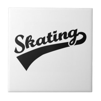 Skating Ceramic Tile