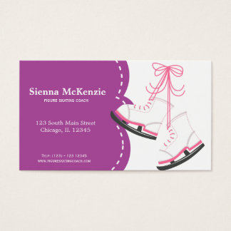 Skating Coach Business Card