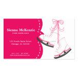 Skating Coach Business Card Templates