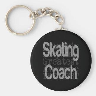 Skating Coach Extraordinaire Keychain