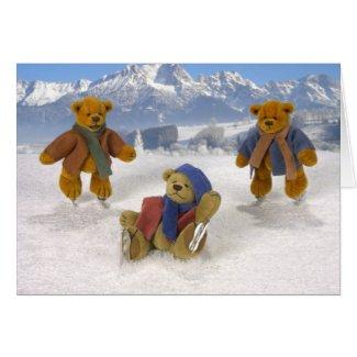 Skating Dinky Bears