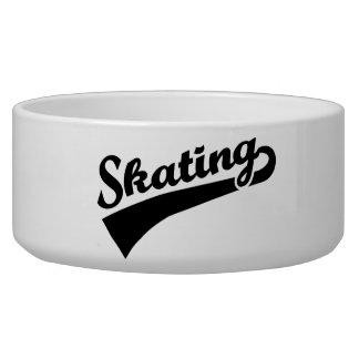 Skating Dog Bowls