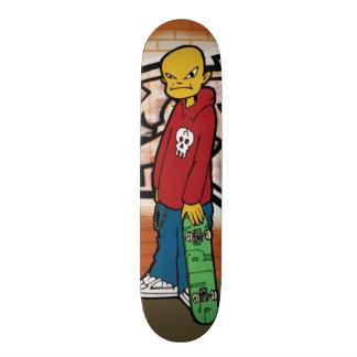 Skating in the Alley - Skateboard