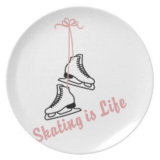 Skating Is Life Melamine Plate