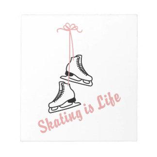 Skating Is Life Notepad