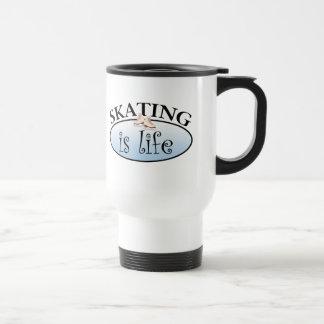 Skating is Life Travel Mug