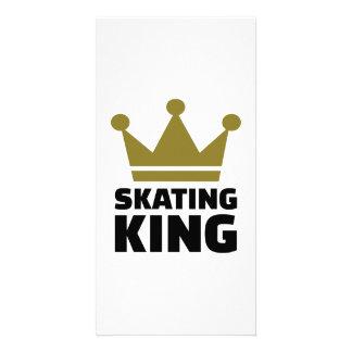 Skating King champion Custom Photo Card