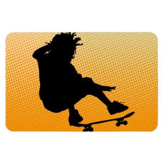 skating man Premium Flexi Magnet