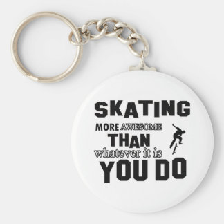skating  more awesome keychains