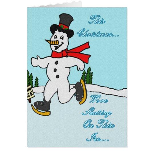 Skating on Thin Ice Card