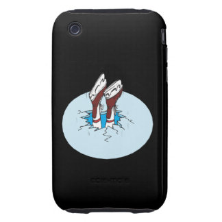 Skating On Thin Ice Tough iPhone 3 Cover