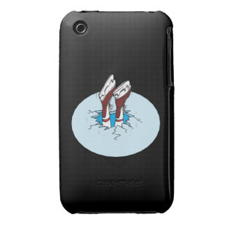 Skating On Thin Ice iPhone 3 Covers