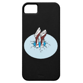 Skating On Thin Ice iPhone SE/5/5s Case