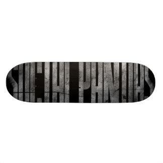Skating Panda Skateboard Deck