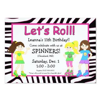 Skating Party Invitation