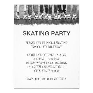skate party invitations & announcements | zazzle, Party invitations