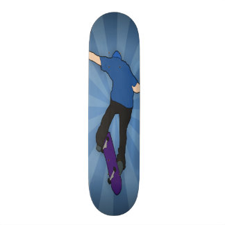 Skating Past You Skateboard