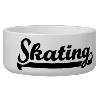 Skating Pet Food Bowls