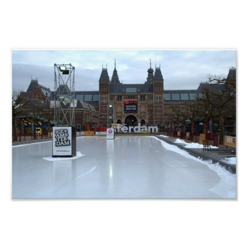 Skating rink, Museumplein, Amsterdam